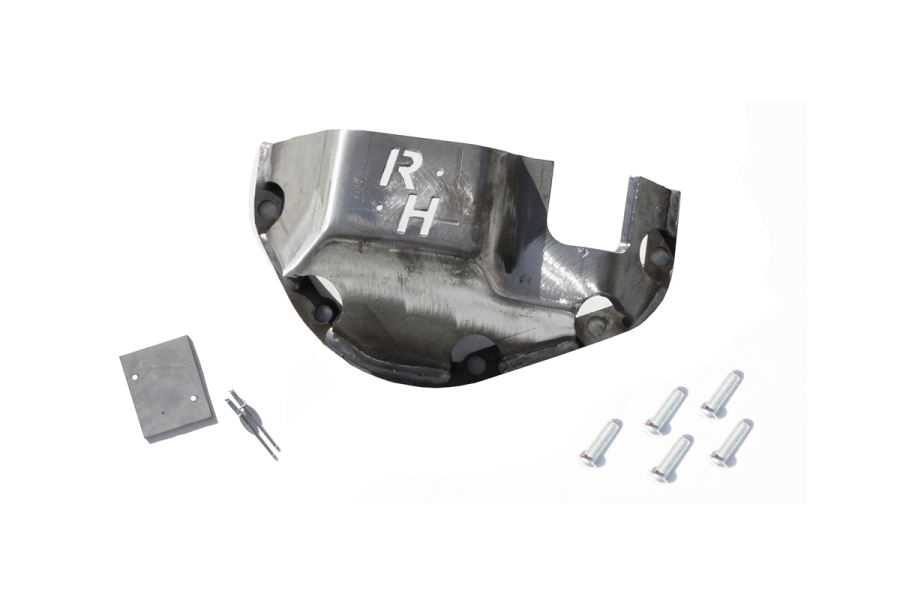Rock Hard 4x4 Dana 44 Differential Cover Raw (Part Number:RH-9055)