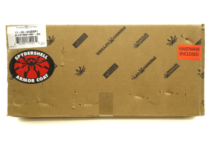 Poison Spyder Brawler Lite Front Bumper w/ Brawler Bar and Tabs Black - JK