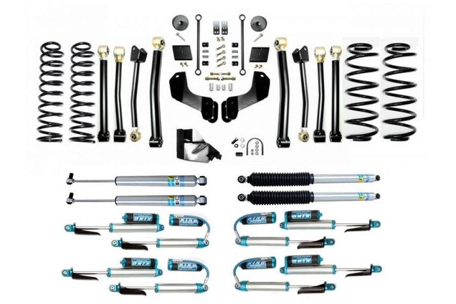 Evo Manufacturing HD 4.5in Enforcer Overland Stage 4 Lift Kit w/ Shock Options - JL