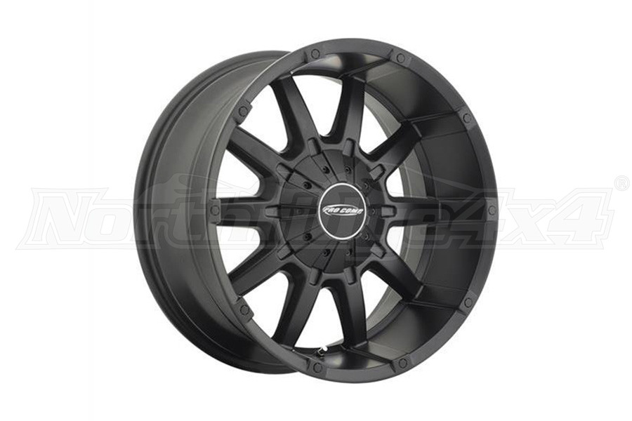 Pro Comp Xtreme Alloys Series 5050 10-Gauge Satin Black Wheel 20x9 5x5 (Part Number:5050-292745)