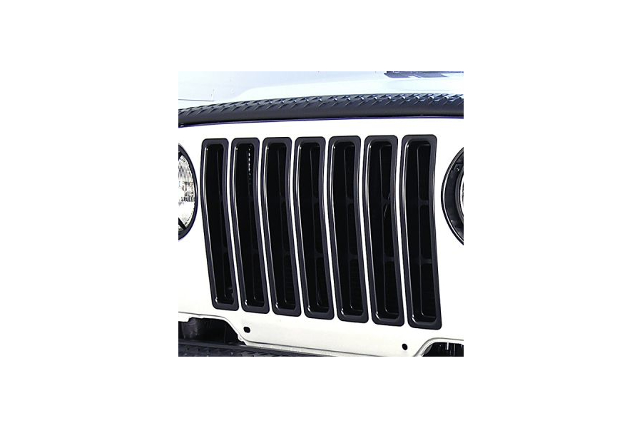 Rugged Ridge Grille Inserts Black - TJ/LJ
