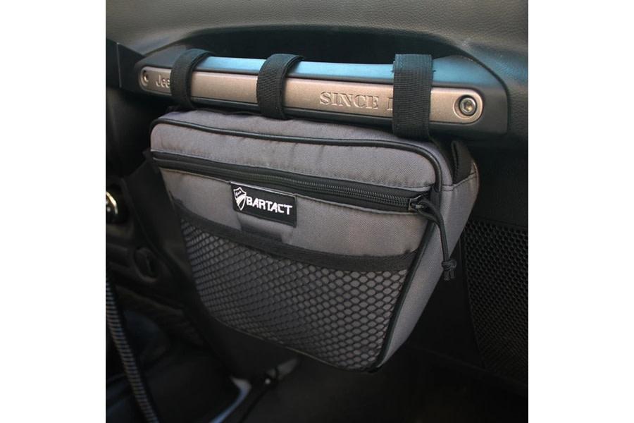 Bartact Dash Grab Handle Bag, Passenger Side - Graphite - JT/JL/JK/TJ