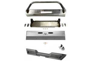 EVO Manufacturing Pro Series Front and Rear Bumper w/Front Skid Plate Package (Part Number: )
