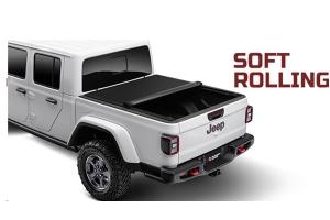 Rugged Ridge Armis Soft Rolling Tonneau Bed Cover  - JT