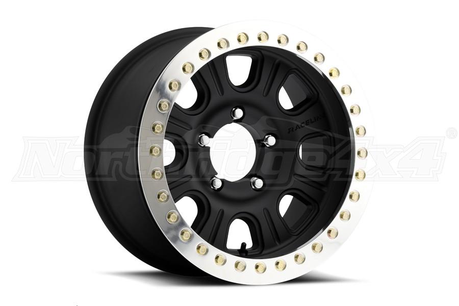 Raceline Wheels RT231 AL Monster Beadlock Wheel, 17x8.5 5x5 - JT/JL/JK