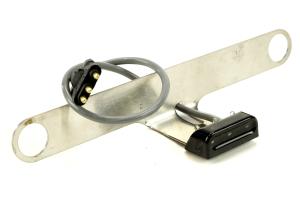 Poison Spyder LED License Plate and 3rd Brake Light w/ Bracket - JK