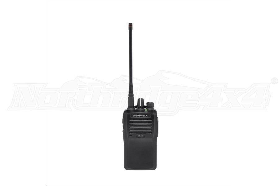 Rugged Radios Motorola VHF Frequency VX261 5 Watt Handheld Radio (Part Number:VX261-V)