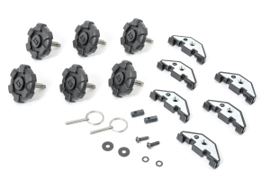 Rugged Ridge Elite Hardtop Quick Removal Kit with Clips  - JK 4Dr