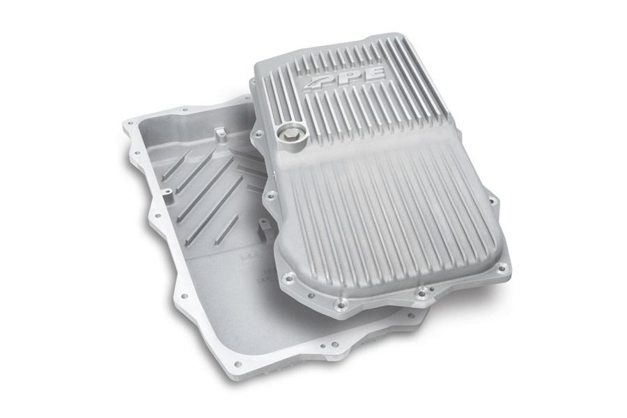 PPE HD Cast Aluminum Shallow Transmission Pan - Raw  - JT/JL