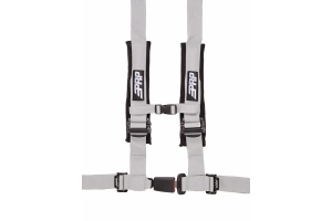 PRP 4 Point Harness Silver 2in