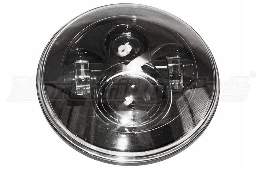 Lifetime LED 7in Round LED Headlight - 4-Lens