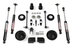Teraflex Suspension 2.5in Budget Boost Lift Kit, w/ 9550 Shocks  - JK