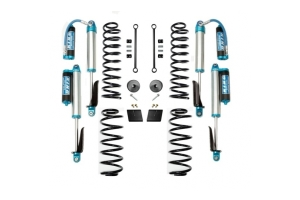 EVO Manufacturing 2.5in Enforcer Lift Kit w/Shocks Stage 1-4 - JL