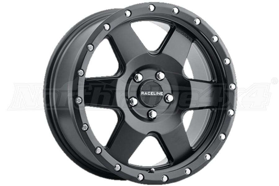 Raceline Wheels 946B Boost Series Wheel, 17x8 5x5 - Satin Black - JT/JL/JK