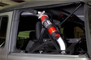 Fishbone Offroad 2.5-3lbs Fire Extinguisher Holder - Black