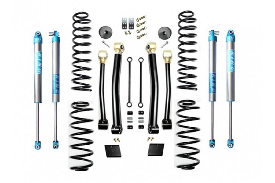 Evo Manufacturing HD 2.5in Enforcer Stage 3 Lift Kit w/ King 2.0 Shocks - JL
