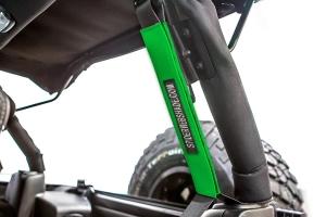 SpiderWebShade Seatbelt Silencers - Green - JK 4Dr