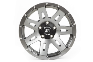 Rugged Ridge XHD Wheel, Gun Metal 17x8.5 5x5 - JT/JL/JK