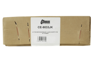 Currie Enterprises Tow Bar Mounting Kit Black (Part Number: )