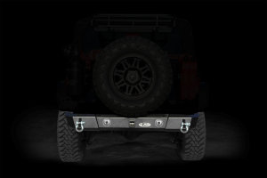 LOD Signature Series Shorty Rear Bumper w/ Light Provision Cutouts Black (Part Number: )