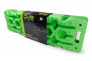 Dv8 Offroad Traction Boards w/ Carry Bag - Green