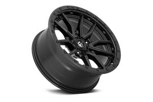 Fuel Offroad D679 Rebel Series Wheel, 17x9 5x5 - Matte Black - JT/JL/JK
