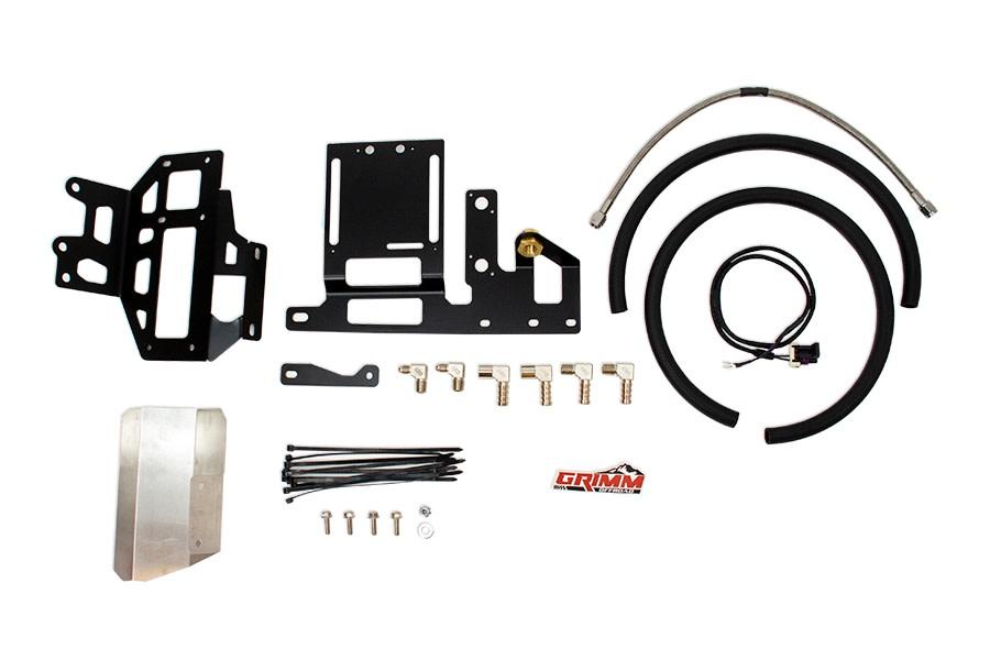 Grimm Offroad ARB Twin Compressor sPOD Mounting Bracket Kit - JT/JL