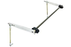 RockJock Antirock Rear Sway Bar Kit - Aluminum Arms - JL