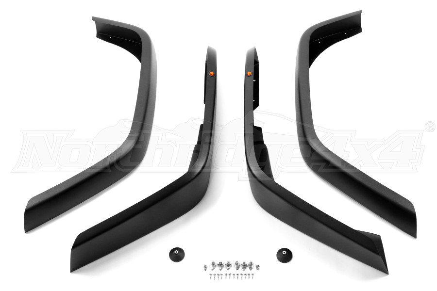 MCE Hi-Clearance Generation II Flexible Fender Flares  - JK