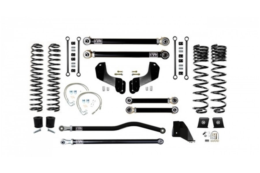 EVO Manufacturing 6.5in Enforcer Overland Stage 3 Plus Lift Kit - JT Diesel
