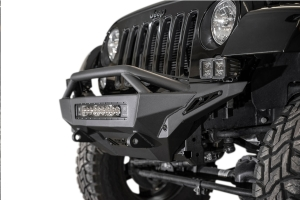 Addictive Desert Designs Stealth Fighter Front Bumper w/Top Hoop - JK