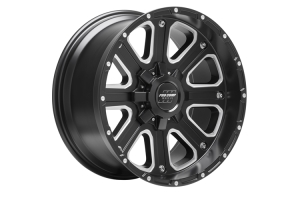 Pro Comp 72 Series Axis Wheel Satin Black 17x9 5x5/5x5.5 (Part Number: )