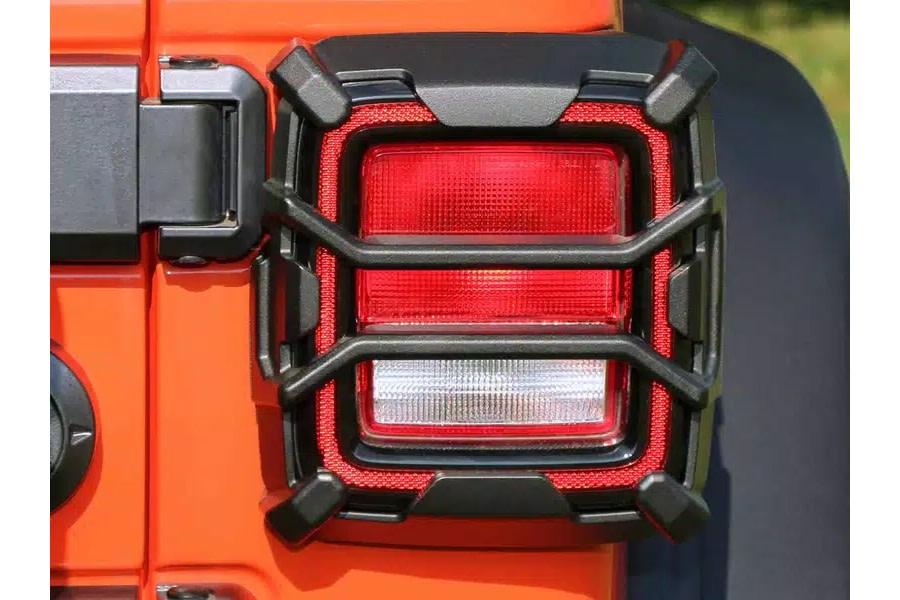 Rugged Ridge Elite Tail Light Guards - JL w/o OE LED Tail Lights
