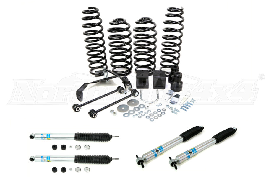 Teraflex Suspension 2.5in Lift Kit, w/ Bilstein Shocks - JK 2DR