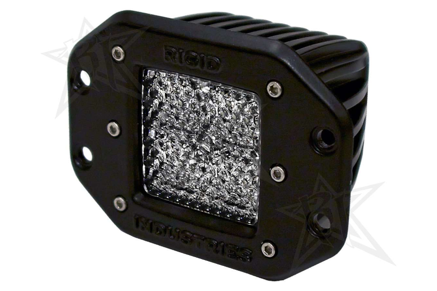 Rigid Industries Dually LED Light Flush Mount Diffused (Part Number:211513)