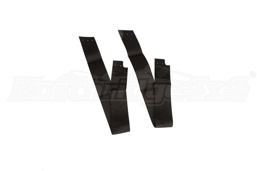 Rugged Ridge Soft Top Stay Pad Service Kit (Part Number:13510.72)