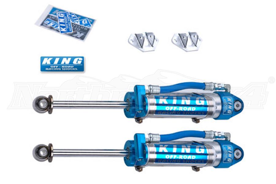 King Shocks 2.5 OEM Performance Series Rear Shocks w/Piggy Back Reservoir 3-5in Lift (Part Number:25001-224)