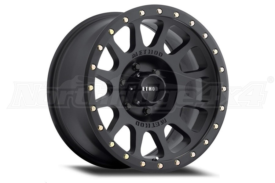 Method Race Wheel 305 Series NV Wheel, Matte Black 18x9.0 6x135  (Part Number:MR30589016518)