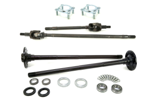 TEN FACTORY Non RUBICON DANA 30/44 FRONT AND REAR CHROMOLY AXLE KIT W/PRESSED BEARINGS - JK (Part Number: )