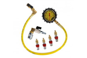 Powertank Monster 4 Valve Kit w/Pressure Gauge (Part Number: )