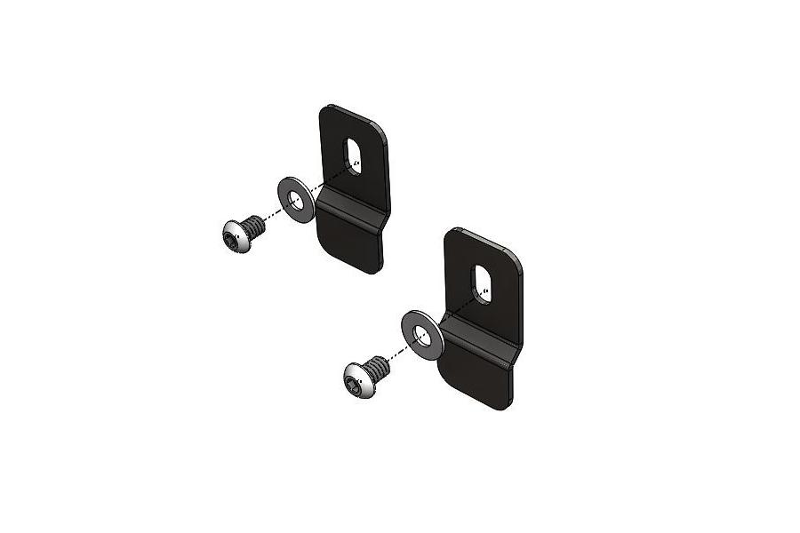 LOD Rear Bumper Parking Sensor Mounting Kit, Black  - JL