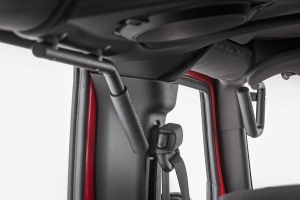 Rough Country Front and Rear Grab Handles - JK