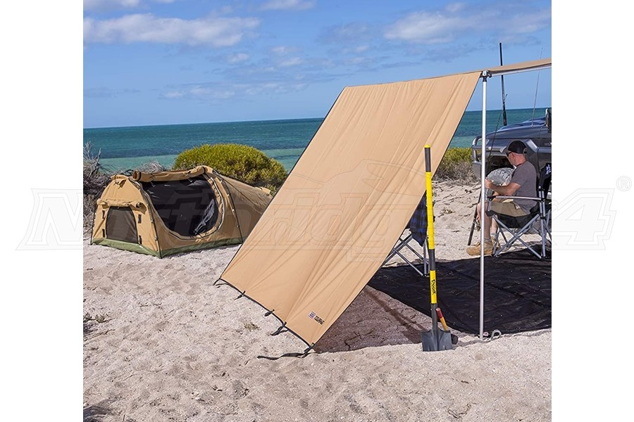 ARB 1250 Series Front Awning Wind Break | 813301 ...
