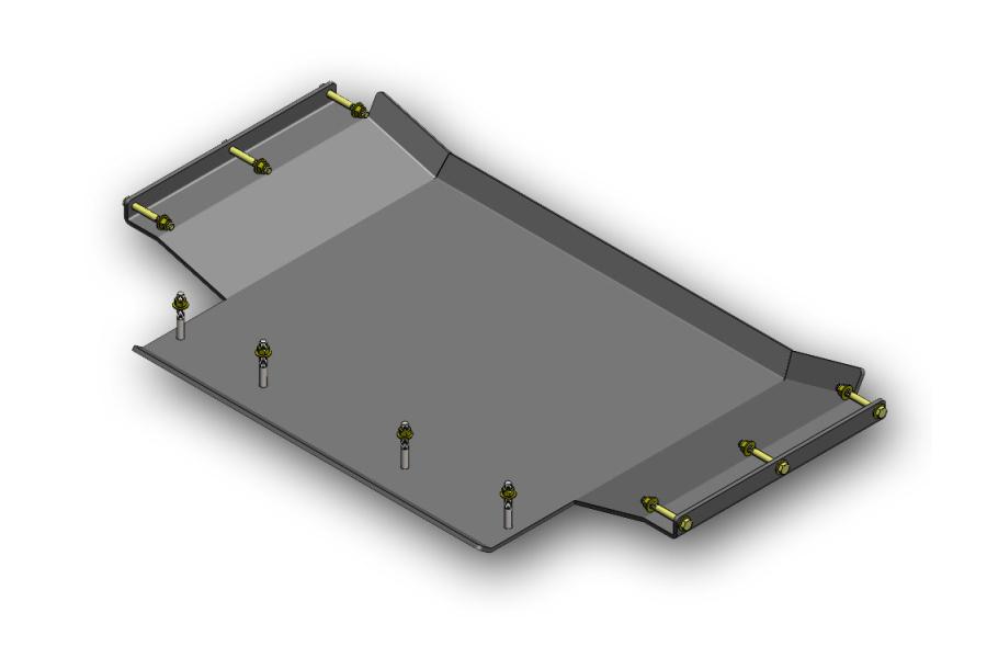 Clayton Transfer Case Skid Plate - WJ
