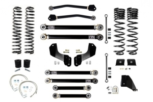 EVO Manufacturing 4.5in Enforcer Overland Lift Kit Stage 4 - JT