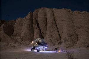 KC Hilites Cyclone 6-Light LED Rock Light Kit - Red