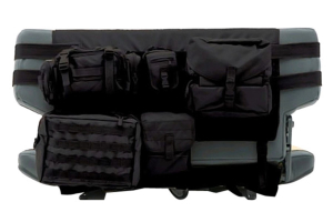 Smittybilt G.E.A.R. Rear Cargo Seat Cover Black Rear (Part Number: )