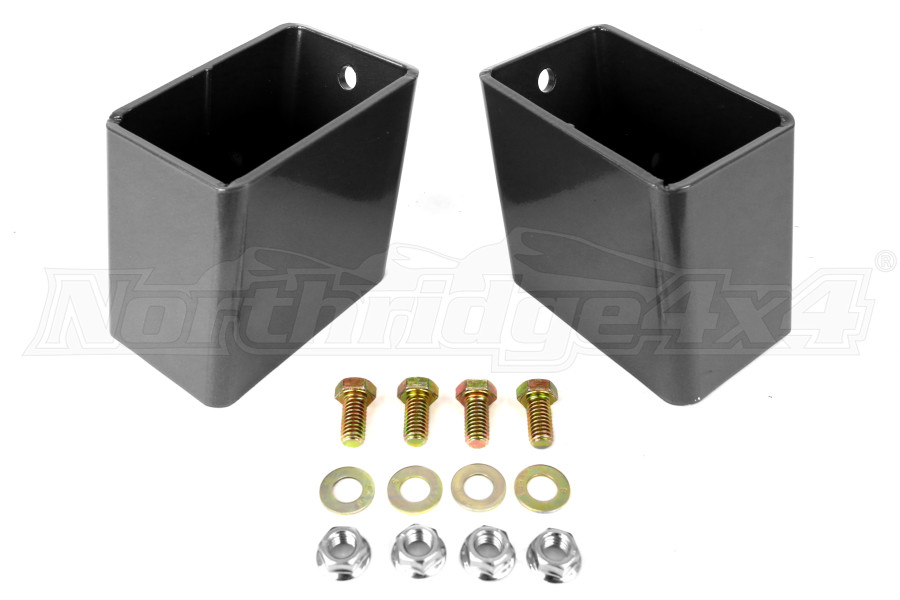Synergy Manufacturing Bump Stop Spacer Kit Rear 4in Pair  (Part Number:8058-40)