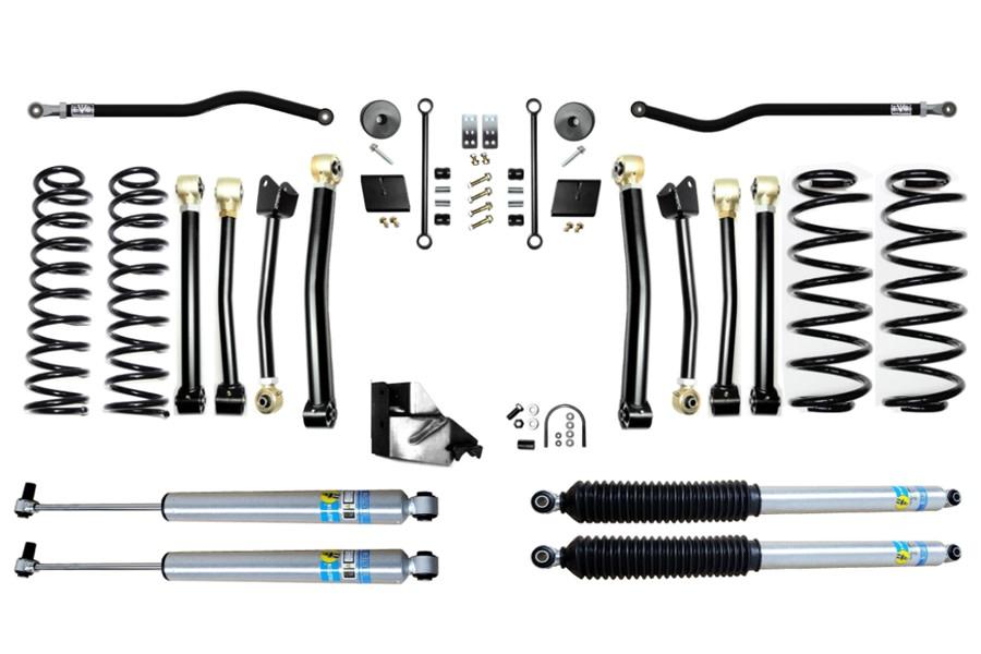 Evo Manufacturing 3.5in Enforcer Stage 4 PLUS Lift Kit w/  Bilstein Shocks - JL