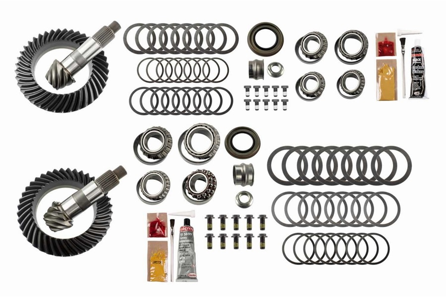 Motive Gear Front and Rear Complete Ring and Pinion Kit - 4.88 - JT/JL
